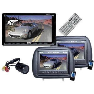 Pyle Hot DVD/LCD/Camera Package for Car/Truck/SUV