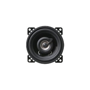Planet Audio TQ422 4-Inch 2-Way Poly Injection Cone Speaker System (Black)