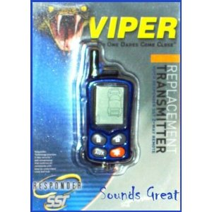 New! VIPER 5500 5900 Responder Replacement Remote 7701V