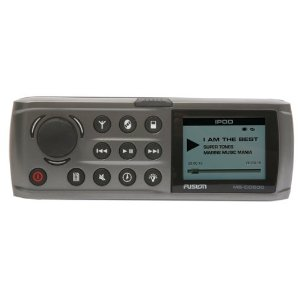 Fusion MS-CD500G CD/AM/FM/Sirrus and iPod Ready IP65 Rated 4 Zones Stereo Receiver (Grey)