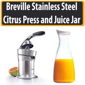 Breville 800CPXL Stainless Steel Citrus Press