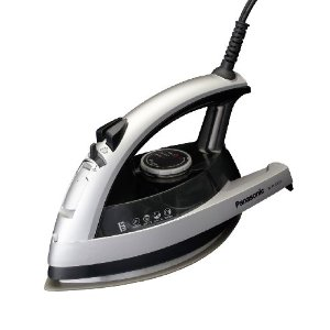 Panasonic NI-W750TS 360-Degree Quick Multi-Directional Steam Iron, Silver and Black