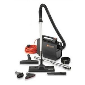 HOOVER COMPANY Commercial Portapower Vacuum Cleaner, 8.3 lbs, Black