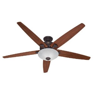 Hunter Fan 23963 70-Inch Stockbridge Ceiling Fan, New Bronze
