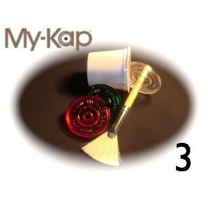 Kaps for K-Cups - Reuse Your Keurig K-Cups (1 Clear, 1 Red, 1 Green) - Over 30,000 Sold