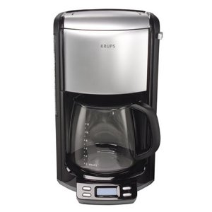 Krups FME4 12 Cup Glass Programmable Coffeemaker