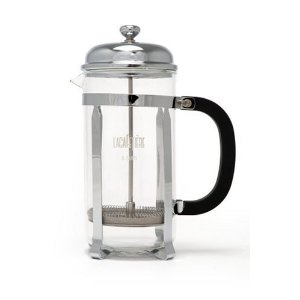 LaCafetiere Classic Coffee Press, Chrome