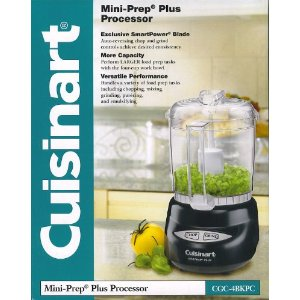 Cuisinart Mini Prep Food Processor - Black