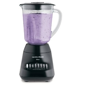 Hamilton Beach 50242N WaveMaker 10-Speed Blender, Black