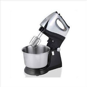 Kalorik Stainless Steel/Chrome Stand Mixer