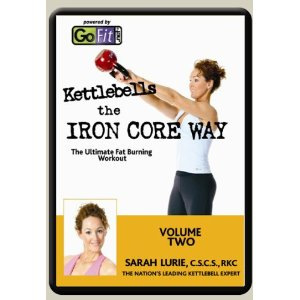 GoFit Kettlebells the Iron Core Way DVD Volume 2