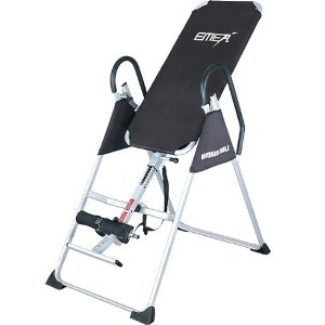 Emer Gravity Pro Deluxe Folding Fitness Therapy Inversion Table Excercise Black