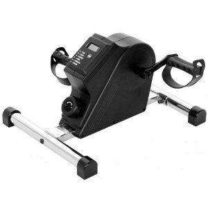 Isokinetics Inc. Executive Deluxe Pedal Exerciser - Chrome - With Anti-Slip Strips
