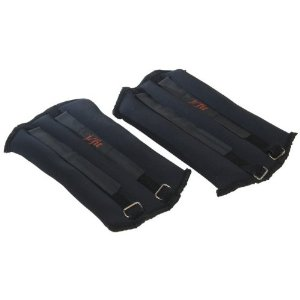 J Fit Neoprene Ankle Weights (5-Pounds Each)