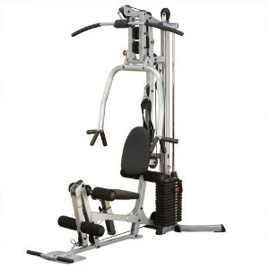 Powerline BSG10X Home Gym, Short Assembly, 160lb Weight Stack