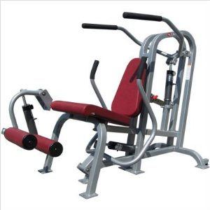 Quantum Fitness Adult Quick Circuit Commercial Total Power Six Exercise Station QAA-9054