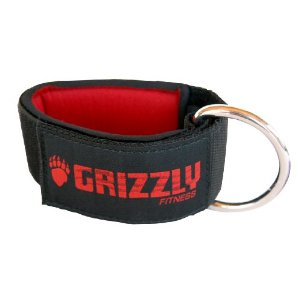 Grizzly Fitness 2-Inch Neoprene Ankle Straps