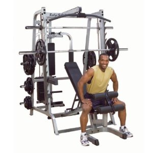 Body Solid Series 7 Smith Gym System w/ F.I.D. Bench