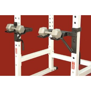 Dumbell Trays for Power Racks-3