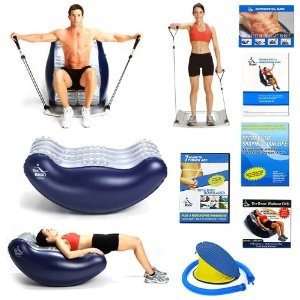 The Bean Deluxe Combo and Flex 10 Ultimate Abdominal Exerciser