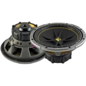 KICKER Comp C8 - Car subwoofer driver - 100 Watt - 8