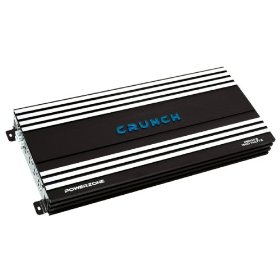 Crunch PowerZone P5000.5 500 Maxx Watt Power A/B Class Five-Channel Amplifier