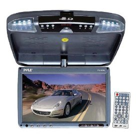 Sound Around PLRD92 9 Inch Roof Mount TFT LCD Monitor with Built-In DVD Player
