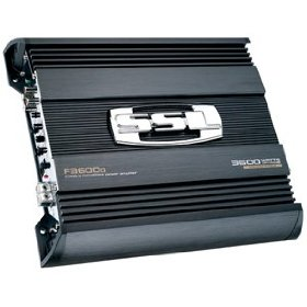 SOUNDSTORM F3600D 3600W Force Class D Monoblock Power Amplifier