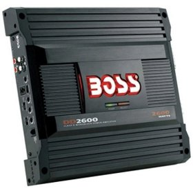 Boss Audio DD2600 Diablo Class D Monoblock Power Amplifier