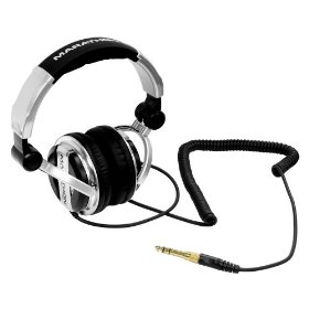 Marathon Djh-1200 Professional High Performance Stereo Dj Headphones