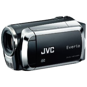 Jvc gzms120bus black camcorder dual sd card slot