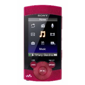Sony Walkman NWZ-S544 Series 8 GB Video MP3 Player (Red)