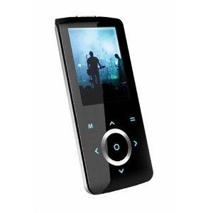 Coby 4 GB Flash Video MP3 Player with FM Radio (Black)