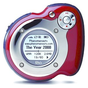 Rio Forge 128 MB Sport MP3 Player