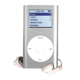 Pre-Owned 4GB iPod Mini - Silver (2nd Generation)