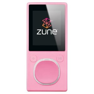 Zune 4 GB Digital Media Player (Pink)