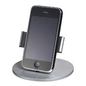 Just Mobile Lounge Iphone Stand Desktop Dashboard Iphone/Ipod Usb
