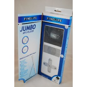 WORLD'S LARGEST JUMBO MP3 PLAYER 2GB MEMORY