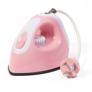 HOMADE Iron shaped Alarm Clock with Radio and MP3 player---Pink