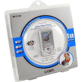 Coby MPC788 1GB MP3 Player