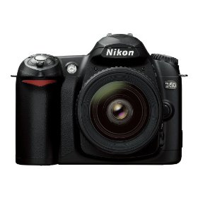Nikon D50 6.1MP Digital SLR Camera with 18-55mm f/3.5-5.6G ED AF-S DX Zoom Nikkor Lens