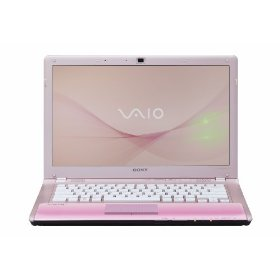 Sony VAIO VPC-CW23FX/P 14-Inch Laptop (Pink)