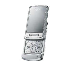 LG KE970 Shine Unlocked Phone with 2 MP Camera, MP3/Video Player, and MicroSD Slot--International Version with Warranty (Silver)