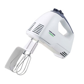 B&d mx300 hand mixer 5speed 250w sptula