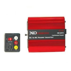 XO Vision XO400 DC to AC Power Inverter with Game Port
