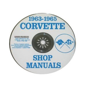 1963-65 Corvette Shop and Service Manual on CD