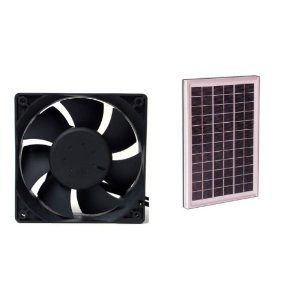 CDT-F14 Solar Power Fan - 10 Watt 4 inch Fan #34014