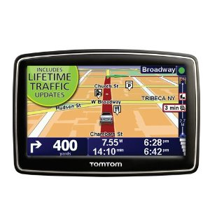 TomTom XL 335T (Lifetime Traffic Edition) 4.3-Inch Portable GPS Navigator