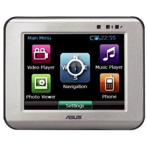 ASUS R300 GPS Unit with Bluetooth, White