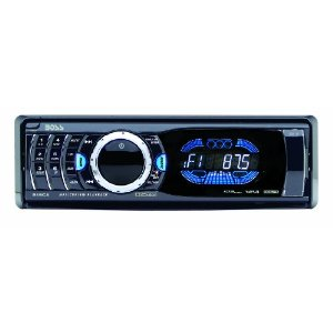 Boss 815CA In-Dash CD/MP3 Receiver with Front Panel AUX Input